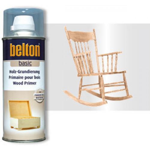 Belton Basic Ahşap Astarı Sprey Renksiz 400 ml