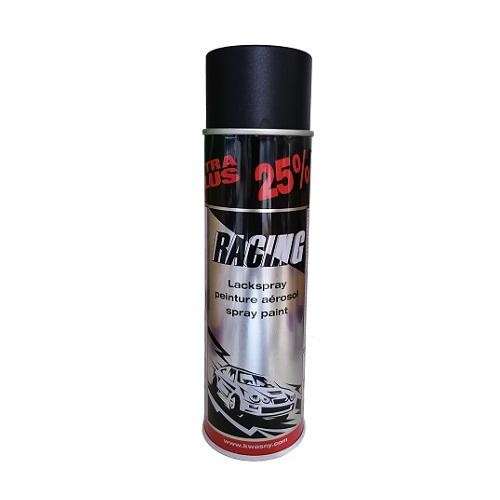 Racing Sprey Boya Yarı Mat Siyah 500 ml