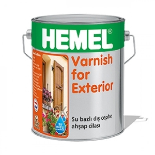 HEMEL Varnish for Exterior 2.5 Litre