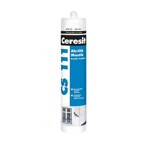 Ceresit CS-111 Akrilik Mastik Beyaz 280 ml