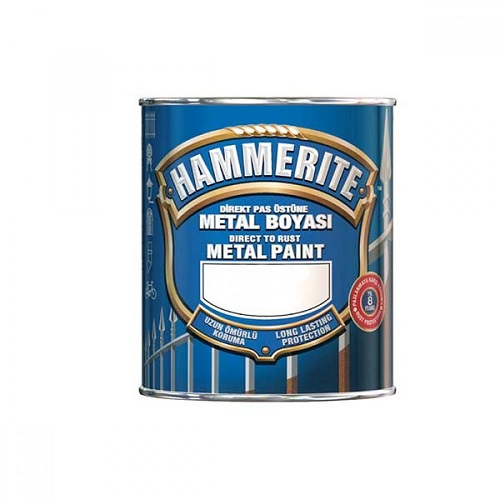 HAMMERITE Döküm Taş Siyah Metal Boyası 0.750 Litre