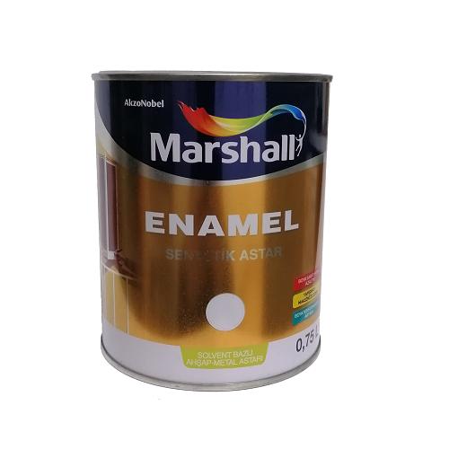 Marshall Enamel Sentetik Astar Solvent Bazlı 0.75 L.