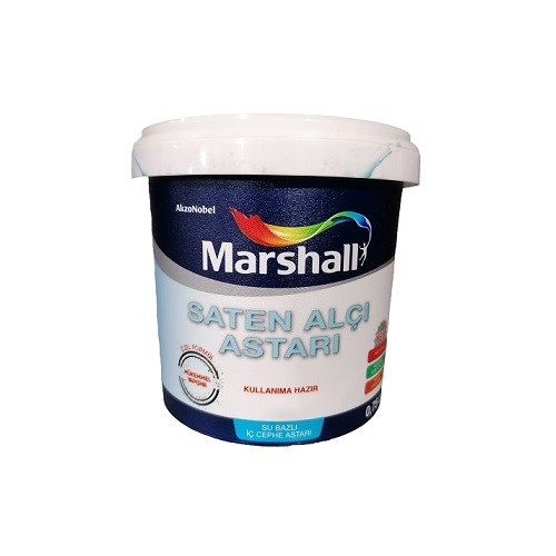 Marshall Saten Alçı Astarı Su Bazlı İç Cephe Astarı 0.75 L.