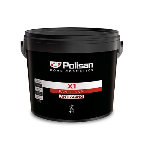 Polisan X1 Su Bazlı Panel Kapı Boyası Beyaz 0.75 L.