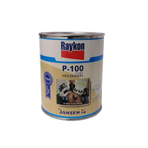 Raykon by Jansen P-100 Acryl Holzsiegel İpek Mat 0.75 Litre