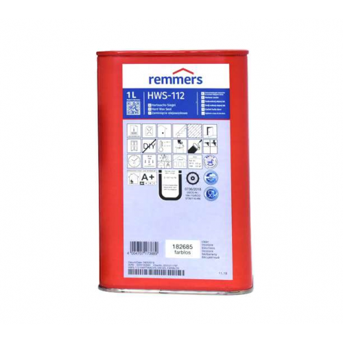 Remmers HWS-112 Yağ-Wax Karışımı Cila 1 Litre