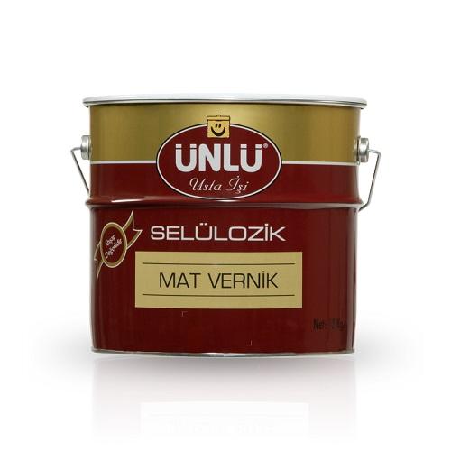 Ünlü Selülozik İpek Mat Vernik 0.75 L.