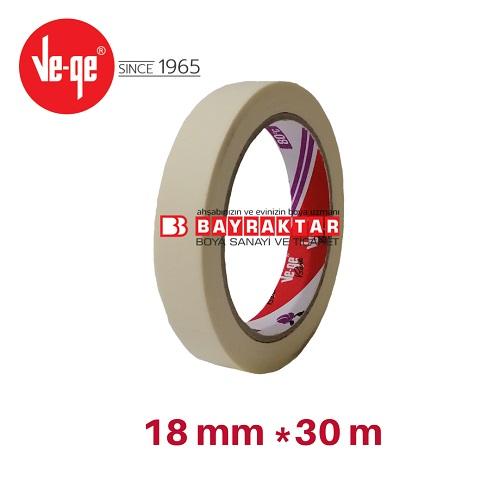 Ve-Ge 80°C - Maskeleme Bandı 18 mm